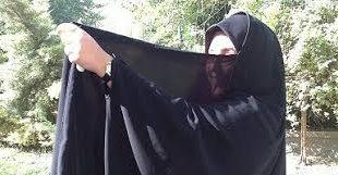 پارچه چادری براق